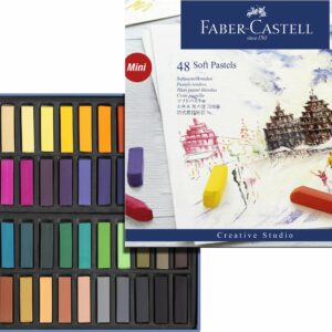 Faber-Castell - Bløde pastelkridt, 48 stk (128248)
