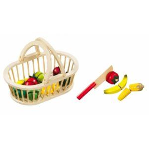Magni - Frugt kurv med frugt og kniv