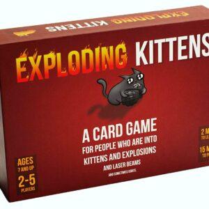 Exploding Kittens Original, Engelsk