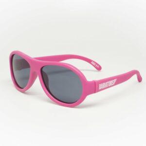 Babiators - Original Aviator - Solbriller til børn - Popstar Pink (0-3 år)