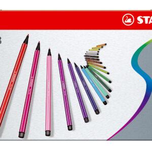 Stabilo - Pen 68 - Metalæske med 50 Tusser