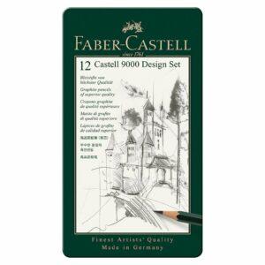 Faber-Castell - CASTELL 9000 blyant kunst sæt (119065)