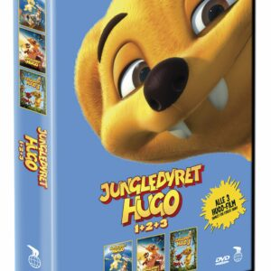 Jungledyret Hugo 1 2 3 Box - DVD