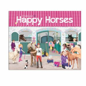 Creative Studio - Create your Happy Horses Aktivitetsbog