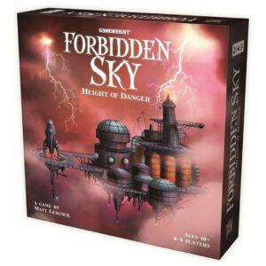 Forbidden Sky - Brætspil (Engelsk)