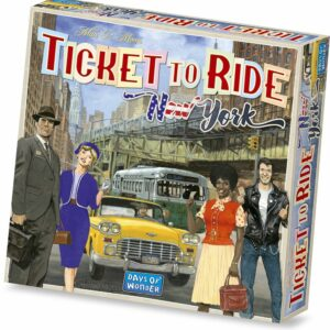 Ticket to Ride - New York (Engelsk)