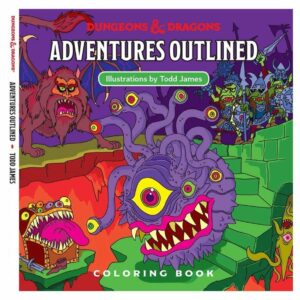 Dungeons and Dragons - Adventures Outlined Malebog (WTCC6035) (D&D)