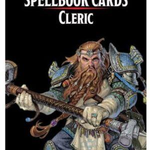 Dungeons & Dragons - 5th Edition - Spell Deck Cleric (149 kort) (D&D) (Engelsk)