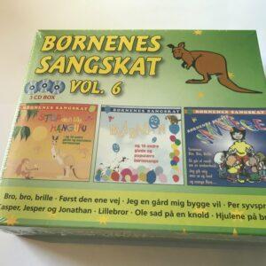 Børnenes sangskat vol 6 - 3 CD