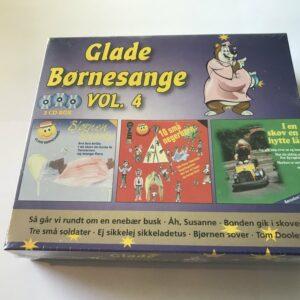 Glade børnesange vol4 - 3CD