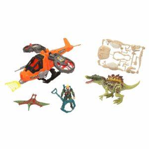 Dino Valley - Steelhawk & Dino Legesæt