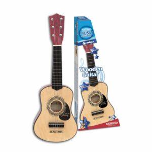 Bontempi - Guitar i træ, 55 cm (215530)