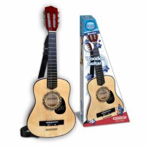 Bontempi - Akustisk guitar i træ, 75 cm (217530)