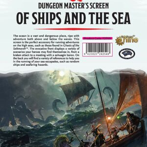 Dungeons & Dragons - 5th Edition - DM Screen Of Ships and the Sea (D&D) (GF073711)