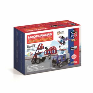 Magformers - Politi og redningssæt (3069)