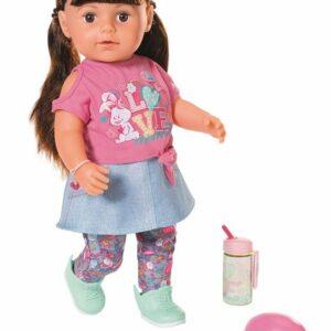 Baby Born - Blød Søster med brunt hår, 43 cm (827185)