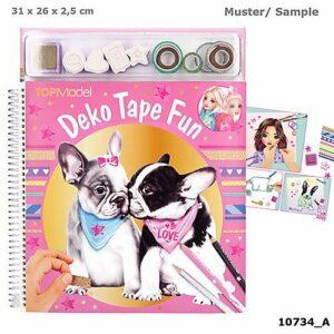 Top Model - Deko Fun Malebog - Hund