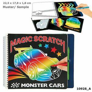 Monster Cars - Magic Scratch Bog