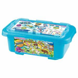 Aquabeads - Kæmpe Box - Safari, 3000 perler