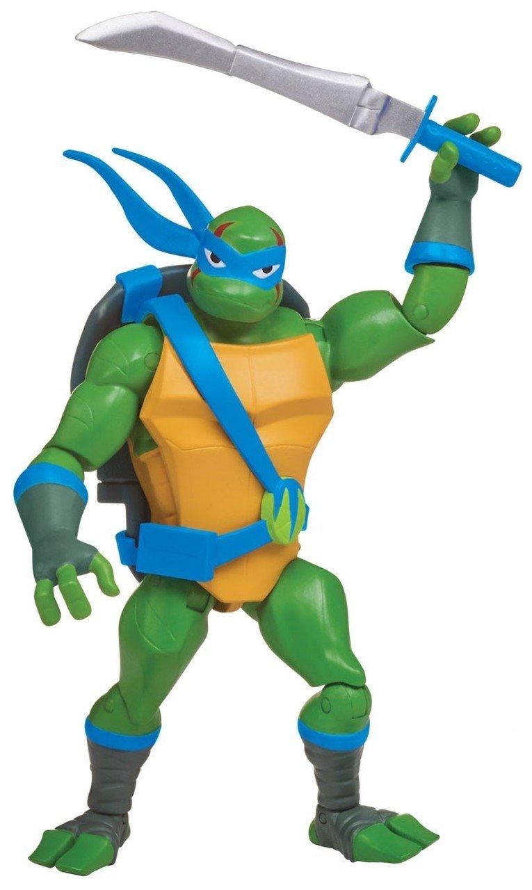 Rise of the Teenage Mutant Ninja Turtles - Battle Shell Leonardo Action Figur (80826)