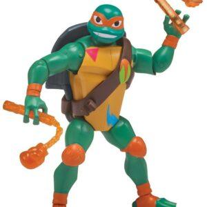 Rise of the Teenage Mutant Ninja Turtles - Battle Shell Action Figur Michelangelo (80828)