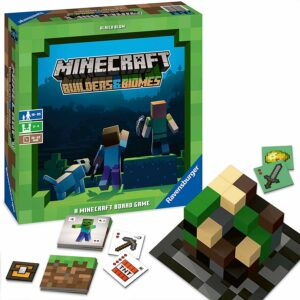 Minecraft - Builders & Biomes - Brætspillet (Engelsk)