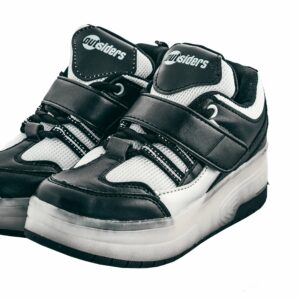 Outsiders - Roller Shoes Black/Silver (size: 28)