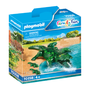 Playmobil - Alligator med baby (70358)