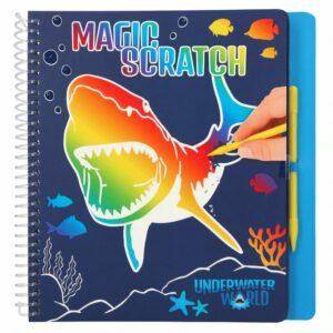 Dino World - Magic Scratch Bog - Underwater
