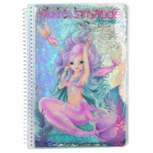 Top Model - Fantasy Model - Design Malebog - Havfrue