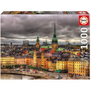 Educa - Puslespil 1000 brikker - Stockholm