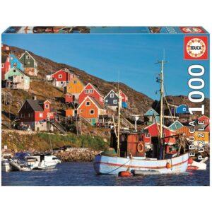 Educa - Puslespil 1000 brikker - Nordiske huse