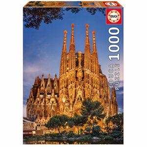 Educa - Puslespil 1000 brikker - Sagrada Familia (017097)