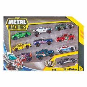 Metal Machines - Multi Pack 10 Biler