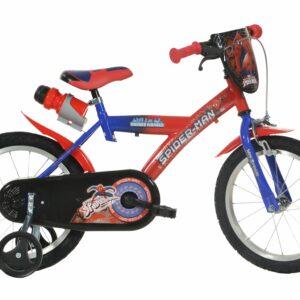 Dino Bikes - Børnecykel 16'' - Spiderman