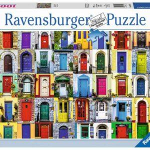Ravensburger - Puslespil 1000 - Alverdens døre