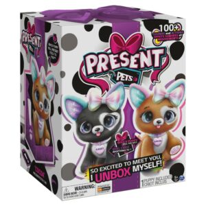 Present Pets – Rainbow Glitter Puppy (Interaktiv Hundehvalp)