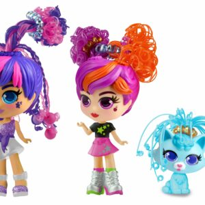 Silverlit - Curli girls Doll and Pet Twin Set (82080)