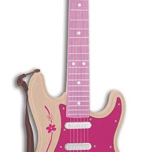 Bontempi - Pink elektronisk rock guitar (241371)