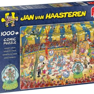 Jan Van Haasteren - Acrobat Circus - Puslespil 1000 brikker (19089)