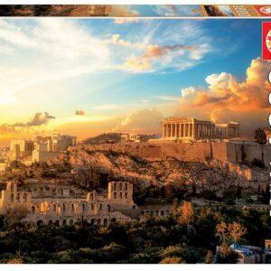 Educa - Puslespil 1000 brikker - Acropolis Atenas (018489)