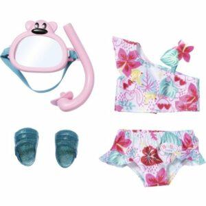 Baby Born - Holiday Deluxe Bikini Sæt 43cm  (829240)