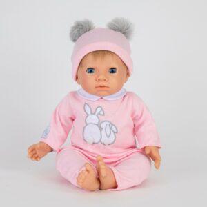 Tiny Treasures - Dukke med lyst hår og blå øjne