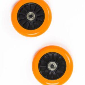 My Hood - 2 Hjul til Trick Løbehjul 100 mm - Orange/Sort