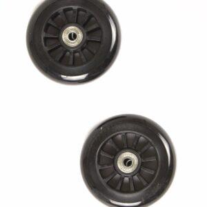 My Hood - 2 Hjul til Trick Løbehjul 100 mm - Sort/Sort