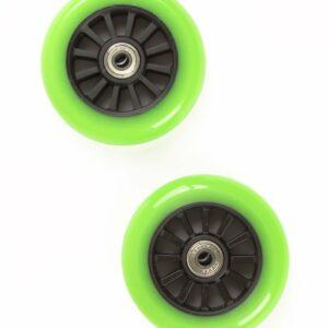 My Hood - 2 Hjul til Trick Løbehjul 100 mm - Lime/Sort