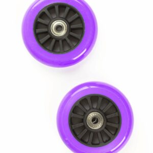 My Hood - 2 Hjul til Trick Løbehjul 100 mm - Lilla/Sort
