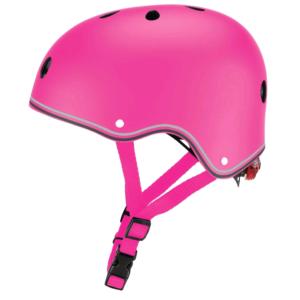 GLOBBER - Hjelm med Lys (48-53 cm) - Pink