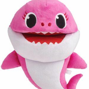 Baby Shark - Syngende Hånddukke - Mor Haj