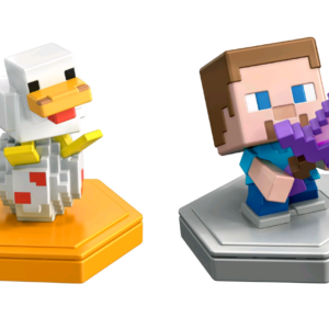Minecraft - Boost Mini Figurer 2-Pakke - Steve & And (GKT42)